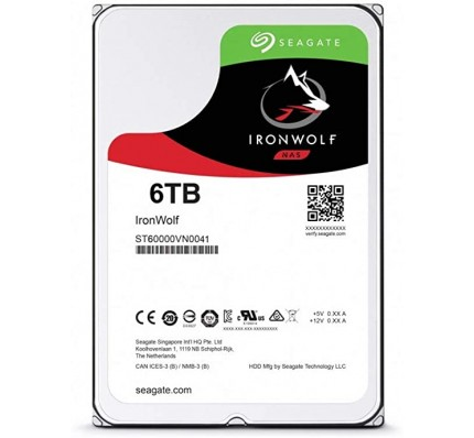 "Жесткий диск SEAGATE HDD SATA 6 TB IronWolf 7200 rpm 3,5"" ST6000VN003636"
