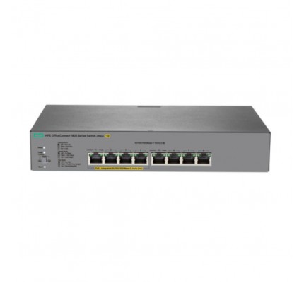 Коммутатор HPE OfficeConnect 1820 8G PoE+ (65W) Switch | 4x10Base-T/100Base-TX/1000Base-T PoE+ ports 4 (J9982A)