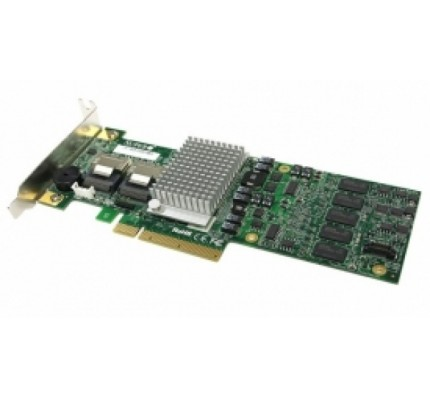 HBA адаптер SuperMicro AOC-S2308L-L8e(Broadcom SAS 2308) 8 ports, 6Gb/s per port, 8 Internal, Low-profile, 122 SATA/SAS drives) / 9501