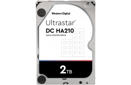 Жесткий диск Western Digital Ultrastar DC HA210 HDD SATA 2TB 7200RPM 6GB/S/128MB 1W10002