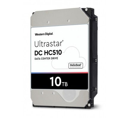 Жесткий диск Western Digital Ultrastar DC HC510 HDD SATA 10TB 7200RPM 6GB/S/256MB
