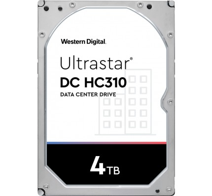 Жесткий диск Western Digital Ultrastar DC HC310 HDD SATA 4TB 7200RPM 6GB/S/128MB