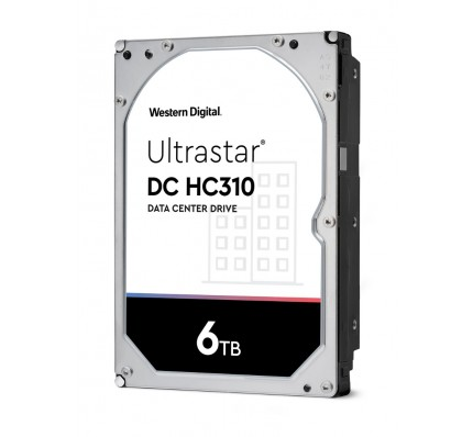 Жесткий диск Western Digital Ultrastar DC HC310 HDD SAS 6TB 7200RPM 12GB/S/128MB 0F22811