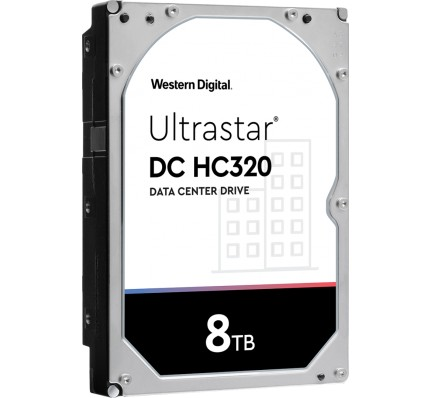 Жесткий диск Western Digital Ultrastar DC HC320 HDD SAS 8TB 7200RPM 12GB/S/256MB 0F27358