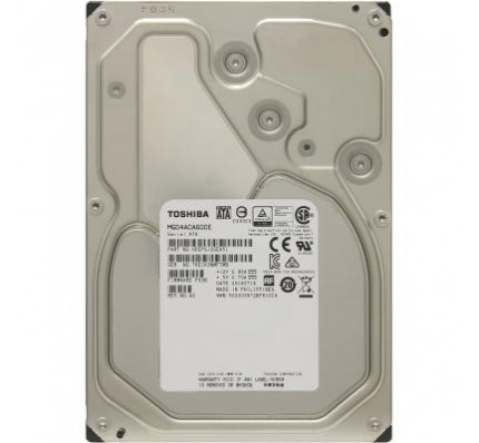 Жесткий диск TOSHIBA HDD SATA 6TB 7200RPM 6GB/S/128MB MG04ACA600E