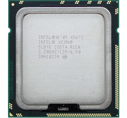 Процессор Intel XEON 4 Core X5672 3.20GHz/12M (SLBYK)
