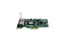 Сетевой адаптер Dell Broadcom NetXtreme II 5709 Dual Port 1GB (0F169G) / 670