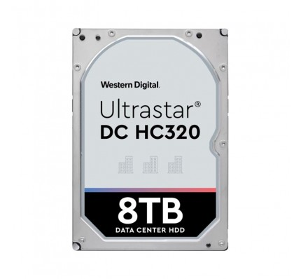 Жесткий диск Western Digital Ultrastar DC HC320 HDD SAS 8TB 7200RPM 12GB/S/128MB HE8 0F23657