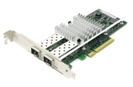 Сетевая карта БУ NET CARD PCIE 10GB QUAD PORT/X710DA4FHBLK / 1932
