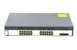 Коммутатор Cisco Catalyst WS-C3750G-24TS-S 1.5U