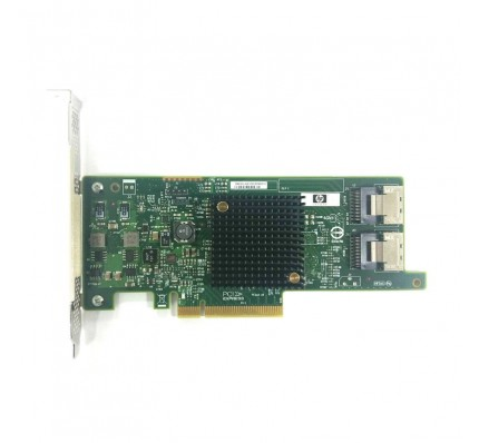 HP HBA адаптер H220 SAS 9205-8I DUAL PORT 6GBPS PCI-E 3.0 X8 HOST BUS ADAPTER (660088-001)
