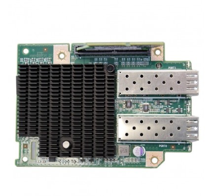 Сетевой адаптер DELL Dual Port 2x10GBE PCI-E Mezzanine Card kit riser HH4P1(C6100 / C6220) (X53DF, TCK99) / 2427