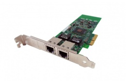 Сетевой адаптер Intel / Dell PRO/1000 PT Dual Port Network Interface Card PCI-E(G174P / E1G42ETBLK , PFCVJ) / 2657