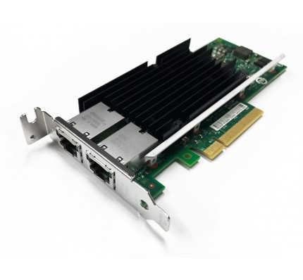 Сетевой адаптер Intel X540 -T2 10G Dual Ports PCIe x8 Ethernet Converged Network Adapter (X540T2) / 2902