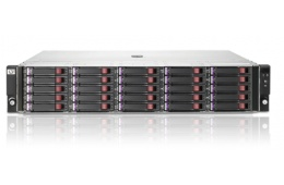 СХД HP StorageWorks P2000 G3(2xHP Array AP836А 2xFC 8 gb/s, 25x2,5 (6 корзин в комплекте) 2PS)