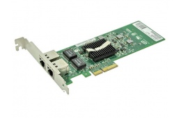 Сетевой адаптер Dell Intel Dual Port 1GB PCI-E NIC Network Card (01P8D1) / 4444