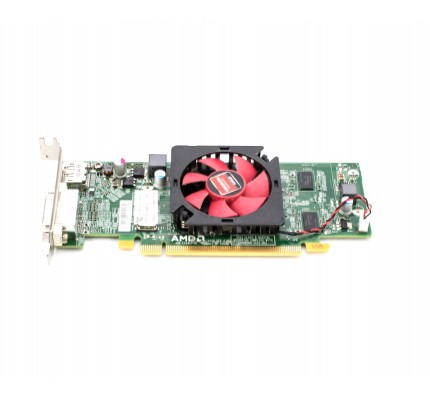 Видеокарта БУ DELL Radeon HD7470 PCI-E x16 Video Card LOW PROFILE Displayport DVI (0WH7F) / 7215